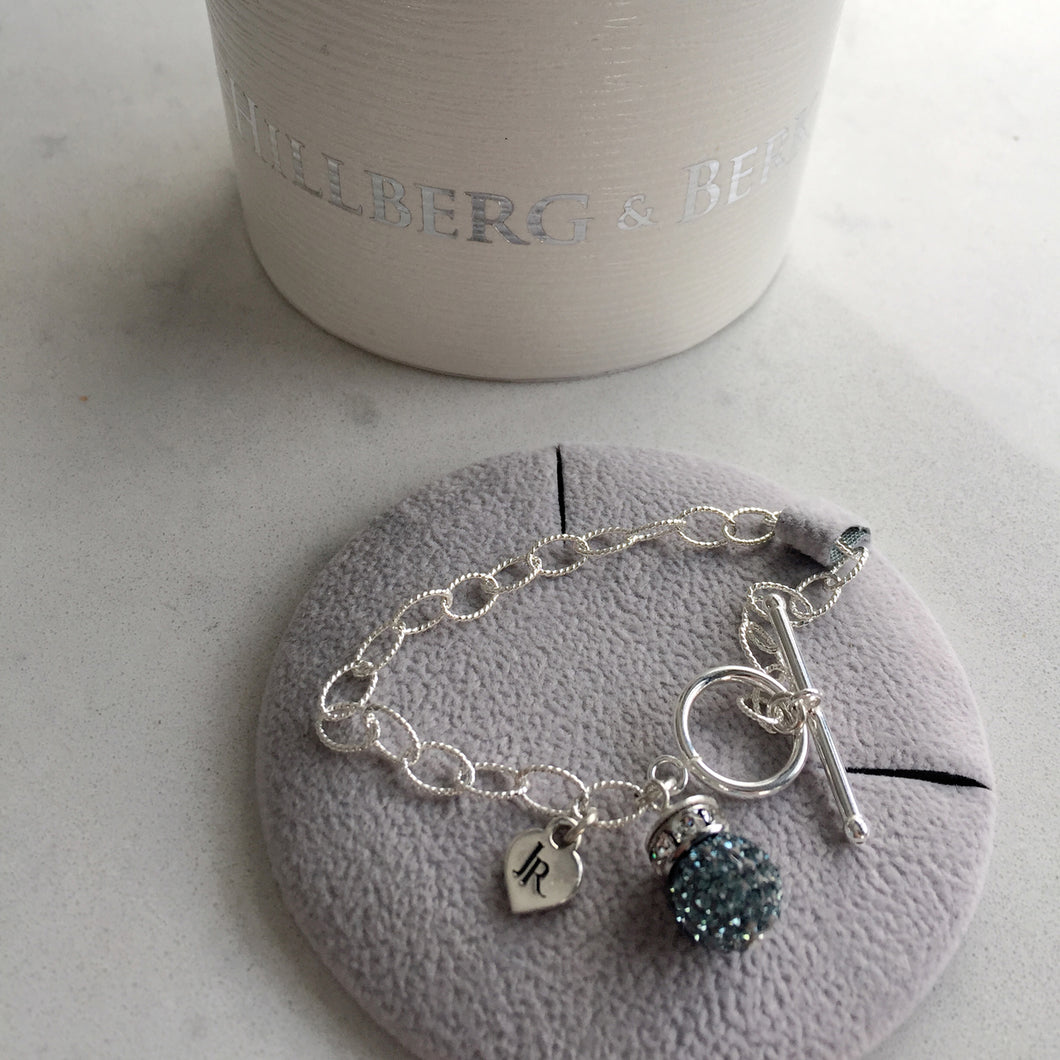 Limited Edition Johnny Reid Sparkle Bracelet by Hillberg & Berk (Sapphire)
