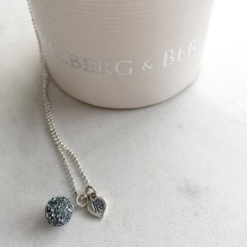 Limited Edition Johnny Reid Sparkle Necklace by Hillberg & Berk (Sapphire)