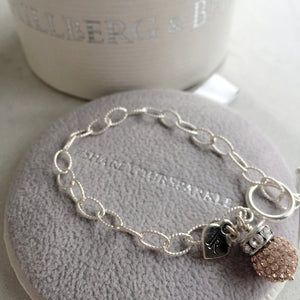 Limited Edition Johnny Reid Sparkle Bracelet by Hillberg & Berk (Rose Gold)