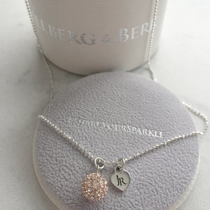 Limited Edition Johnny Reid Sparkle Necklace by Hillberg & Berk (Rose Gold)