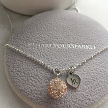 Load image into Gallery viewer, Limited Edition Johnny Reid Sparkle Necklace by Hillberg & Berk (Rose Gold)