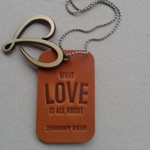 Leather Dog Tag