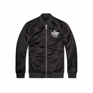 "Lightweight Unisex ""My Bonnie Lass"" Bomber Jacket"