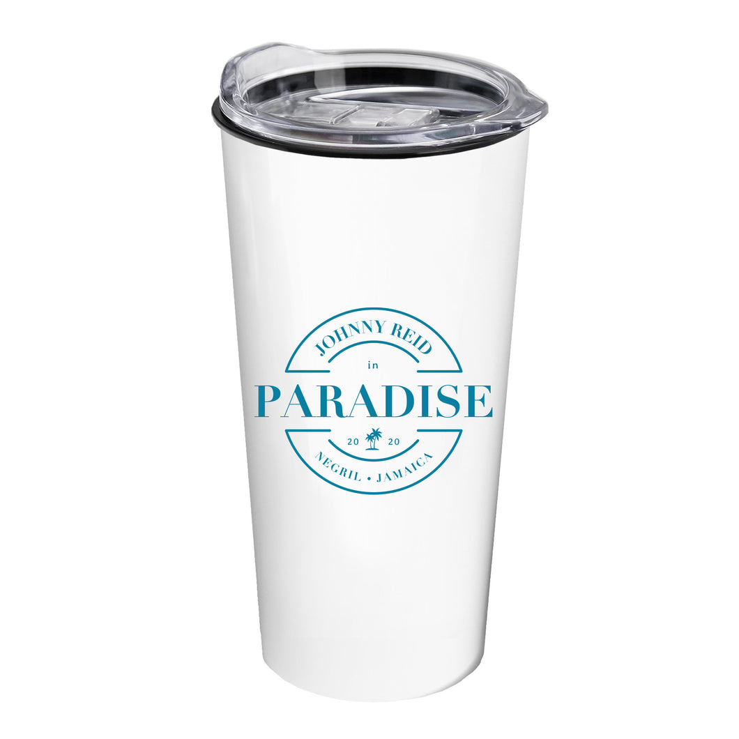 Johnny Reid in Paradise Jamaica 2020 Travel Tumbler