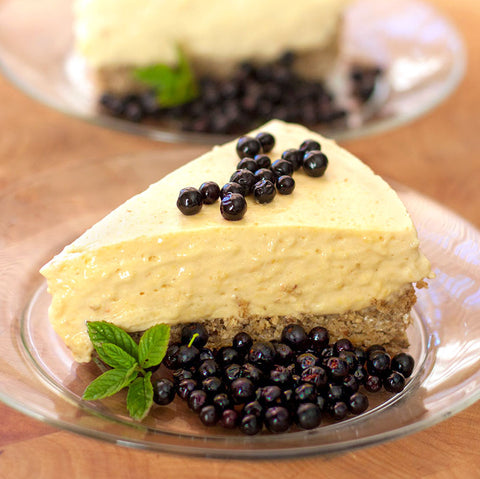 Pawpaw Cheesecake with Pecan Crust