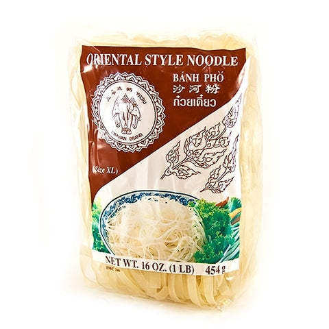 Extra Wide Rice Noodles - 16 oz