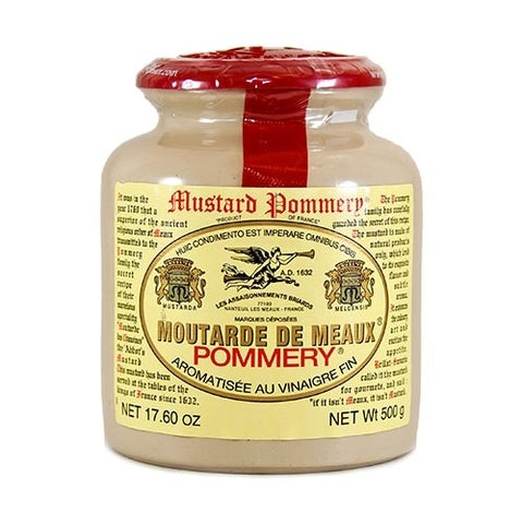 Pommery Original Mustard from Meaux - 500 gm jar