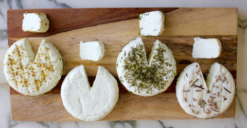 Idyll Pastures Chevre with Garlic & Herbs
