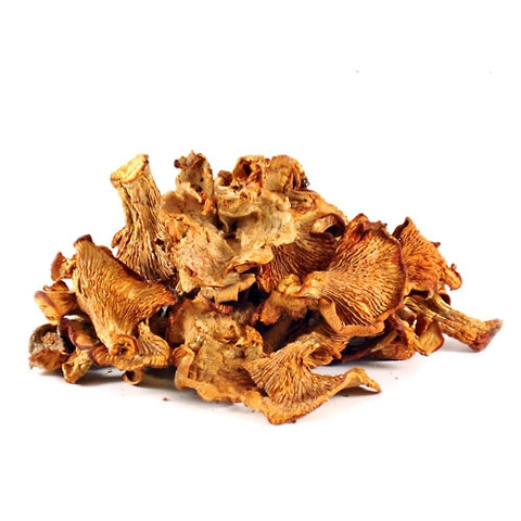 Dried Chanterelle Mushrooms - 1 lb