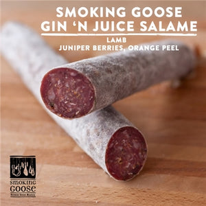 Smoking Goose Gin and Juice Salame - 8 oz