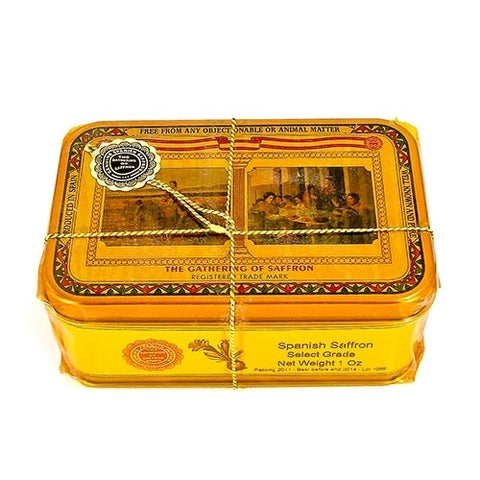 """The Gathering"" Pure Spanish Saffron - 1 oz tin box"