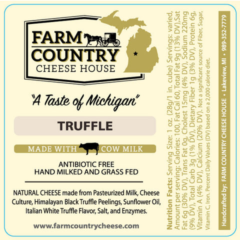 Image of Farm Country Cheese House Truffle Cheese - 8 oz