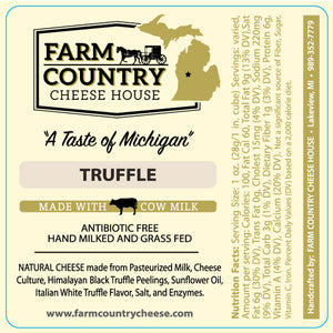 Farm Country Cheese House Truffle Cheese - 8 oz