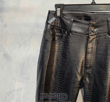 Load image into Gallery viewer, Tatiana Croc Textured Pants