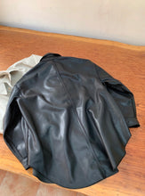 Load image into Gallery viewer, Trish Oversized Faux Leather Jacket