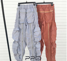 Load image into Gallery viewer, Nadia Zipper Cargo Pants