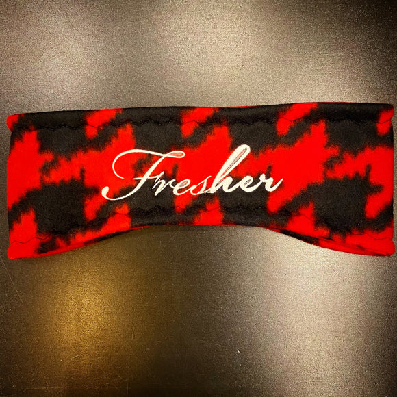 Fresher Houndstooth Ear Warmer