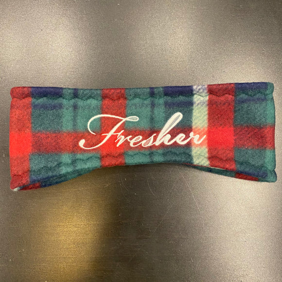 Fresher Fifth Ave Plaid Ear Warmer