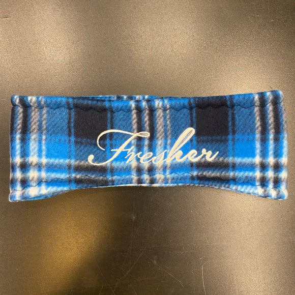 Fresher Cool Plaid Ear Warmer