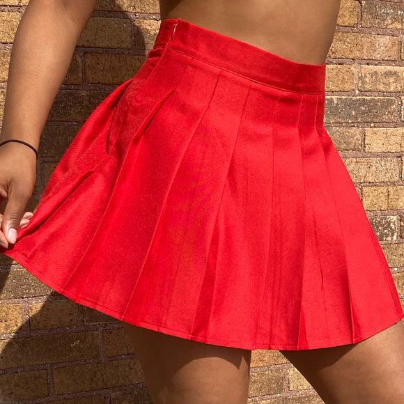 Take Notes Tennis Skirt