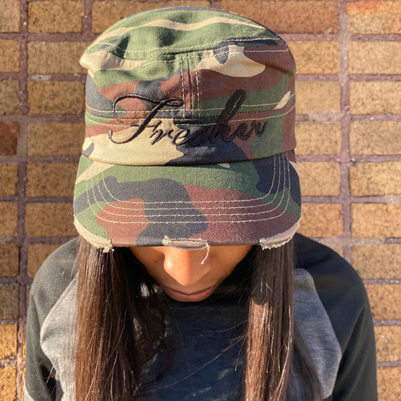 Fresher Classic Camo Cadet Hat