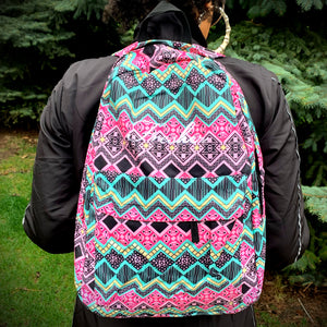 Fresher Artsy Aztec Backpack