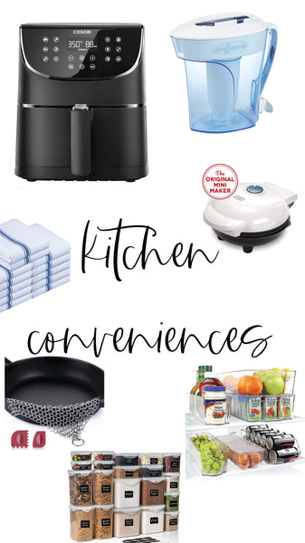 kitchen conveniences
