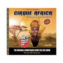 Load image into Gallery viewer, Cirque Africa CD Audio - Cirque Africa Merchandise