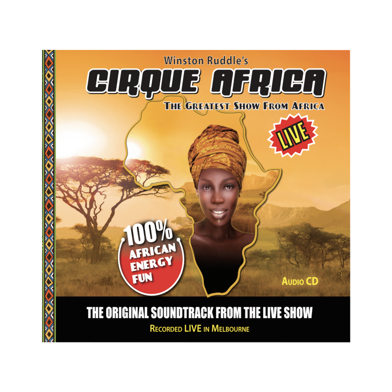 Cirque Africa CD Audio - Cirque Africa Merchandise