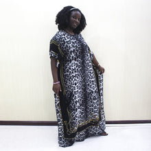 Load image into Gallery viewer, Cotton Leopard Print Women Dress - Cirque Africa Merchandise