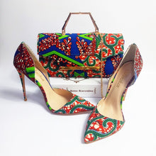 Load image into Gallery viewer, Women High Heel,Shoes,Handbag set - Cirque Africa Merchandise