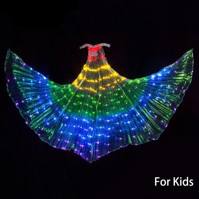 LED Isis Wings Colorful led Stage Performance - Cirque Africa Merchandise