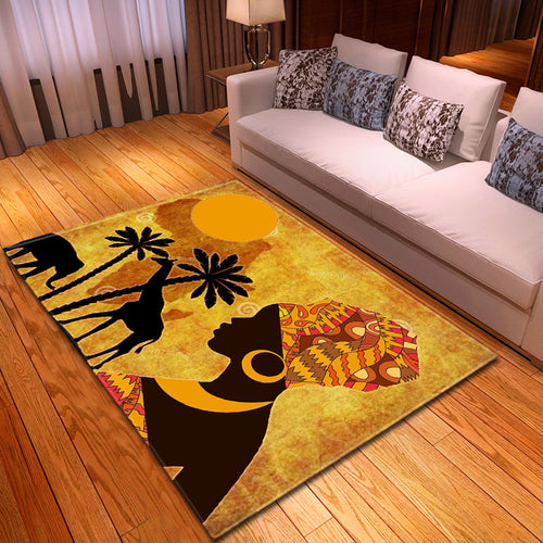 African Printed Carpets - Cirque Africa Merchandise