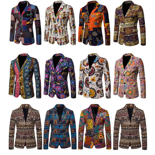 African Male New Age Jacket - Cirque Africa Merchandise