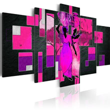 Load image into Gallery viewer, Wall Art Abstract African Women painting - Cirque Africa Merchandise