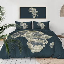 Load image into Gallery viewer, Bedding Outlet African style 3 Pcs - Cirque Africa Merchandise