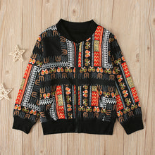 Load image into Gallery viewer, Girl Boys Autumn African Windproof Coat - Cirque Africa Merchandise