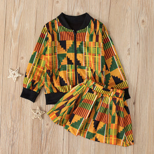 Toddler Kids Baby Girls Clothes with Zipper - Cirque Africa Merchandise