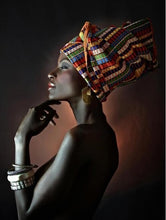 Load image into Gallery viewer, Beautiful African Women Oil Paintings - Cirque Africa Merchandise