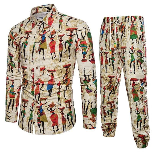 Tracksuit Set For Man - Cirque Africa Merchandise