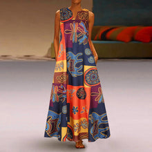 Load image into Gallery viewer, Floral Printed Maxi Long Dress Casual Dress - Cirque Africa Merchandise