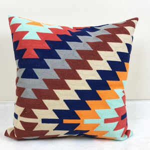 Embroided Afro Cushion Cover - Cirque Africa Merchandise