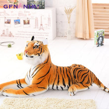 Load image into Gallery viewer, Giant size Simulation Giraffe, White Tiger,Yellow Tiger Plush Toys - Cirque Africa Merchandise