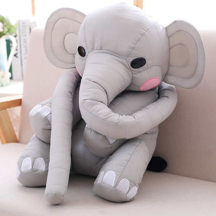 Elephant Plush with long nose toy - Cirque Africa Merchandise