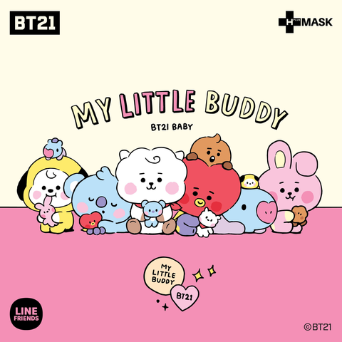 BT21 MEETS H-PLUS