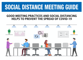 "Meeting Guide Poster Sticker (11"" x 17"")"