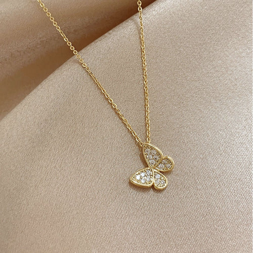 Sole Butterfly Necklace