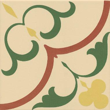Floor tiles. Encaustic cement tiles look. Gaudi 1 7.87x7.87