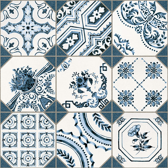 Floor tiles. Ceramic heritage look. Retiro 12.2x12.2