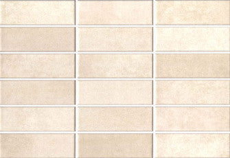 Wall tiles. White tiles look. Essen crema 9.06x12.99